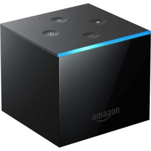 Amazon Fire TV Cube Network Audio/Video Player - Wireless LAN - Black - 53-020325