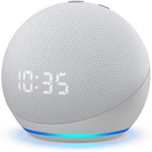 Amazon Echo Dot (4th Gen) Smart Speaker with clock and Alexa -53-023503