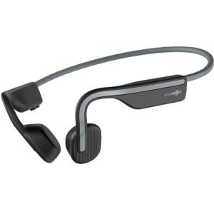 AFTERSHOKZ Open Move Bluetooth Headphone - Slate Grey | White W/Mic - AS660SG