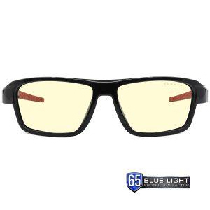 Gunnar Lightning Bolt 360 Blue Light Filtering Glasses - Amber/Sun, Gaming Glasses, Interchangeable lens for both indoor and outdoor use -GNN-LI3-00101