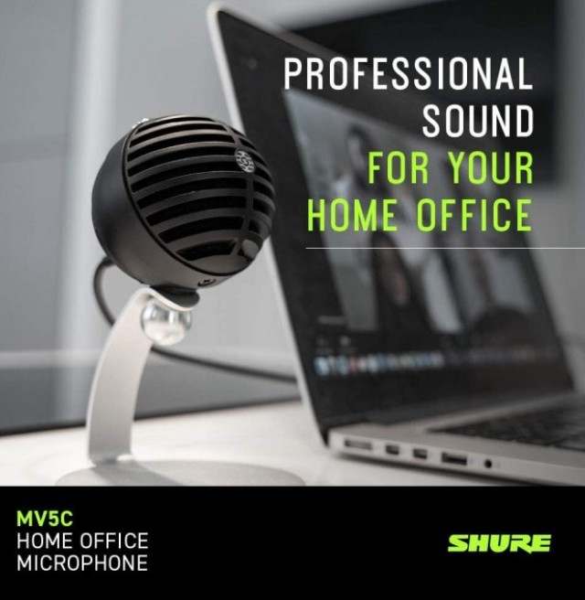 Shure MV5C Home Office Conferencing Microphone
