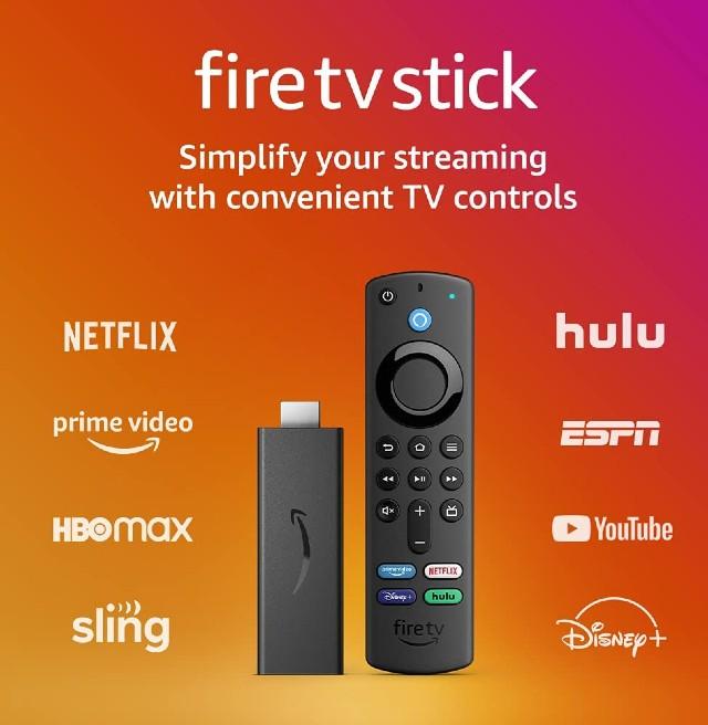 Amazon Fire TV Stick 3rd Gen