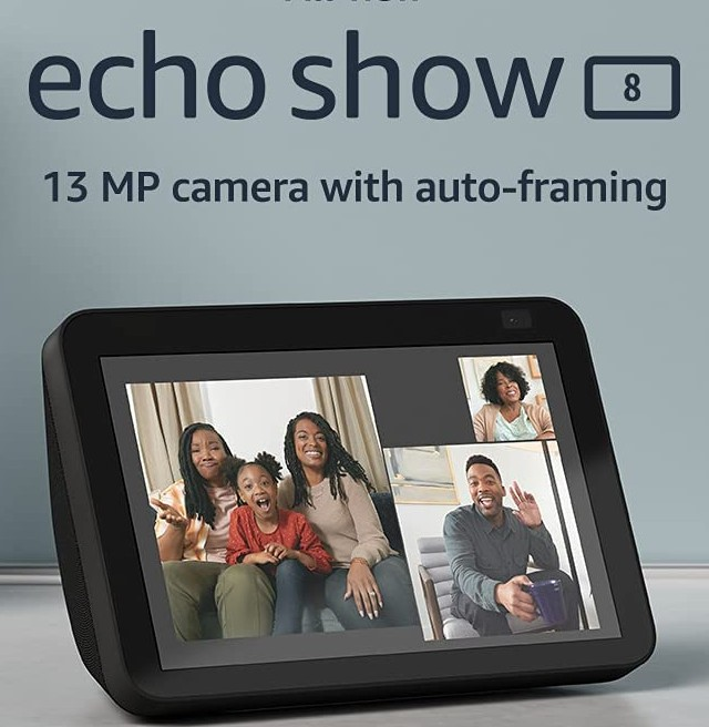 Amazon-new Echo Show 8 (2nd Gen)