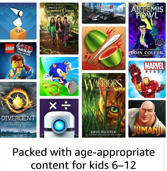 Amazon Fire HD 10 Kids Pro tablet