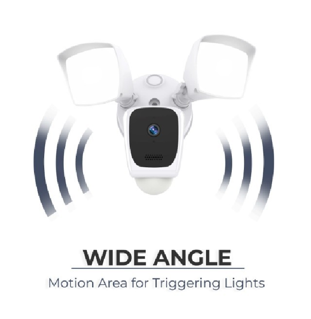 Aluratek Smart Floodlight outdoor camera