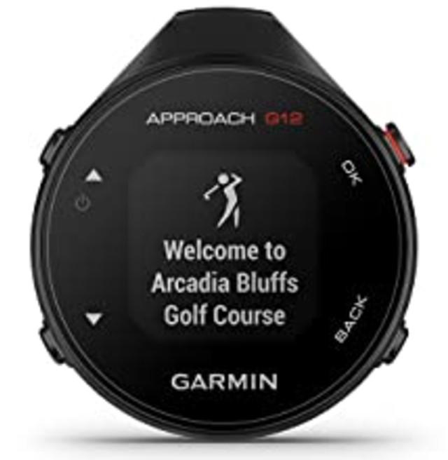 Garmin G12 GPS Golfing Range finde