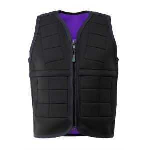 Weighted Vest Kit Power WearHouse (includes 6.8 lbs, 4 sets of 6 pack weights) breathable fabric keeps body temperature comfortable Neoprene exclusive of decoration - 628176873367
