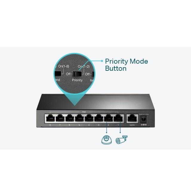TP-Link 9-Port 10/100Mbps TL-SF1009P